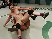 Team Tits - Penny Barber and Penny Pax face off Against Team Ass - Sarah Shevon and Odile