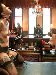 Members of the BDSM community come together with the House for bunch and play before Labor Day.