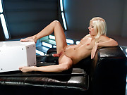 French babe fucked @ mach 10, screaming squirting, epic orgasms that make her cry in bliss, her ass & pussy stretched & her body possessed by machines
