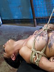Felony has her way with two beautiful, disobedient lesbian whores and fucks them both in the ass and makes them clean the strap on with their mouth!