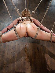 Voluptuous Russian whore gets bound, greased, & ass-hooked until she cums hard! Newcomer Riley gets pushed with challenging bondage & intense orgasms.