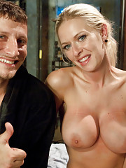 Boss woman ravished and aggressively ass fucked in bondage fantasy!