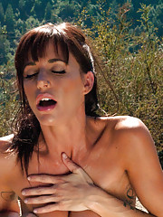 PART 2 Ashlynn Leigh & Gia DiMarco fucked outdoors by killer machines from a wicked alien spaceship. Tons of Squirting, multi-Os, Sybian rides, DPs
