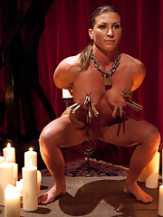 Ariel X aka buffy is the first lesbian slave ever to be initiated to the House.