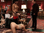 Chastity Lynn aka buttons is initiated as the newest House slave.