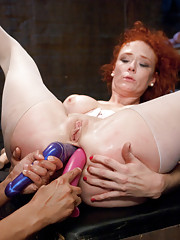 Fisting, stretching, double teamed and enemas!