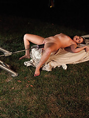 Outdoor machine fucking, loud screaming, big dick POUNDING orgasms from a possessed  Alien named Dianne and her furious sex machines. DON