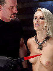 Anikka is introduced to true slave training and experiences extreme electricity, pain, and orgasms.