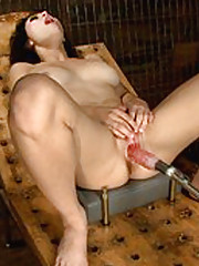 Young & beautiful & ready to fuck the mystery box. We surprise, confuse, overwhelm and make her cum until white creamy pussy juice leaks out of her.