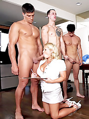 Super sexy big tit get fucked by the biggest cocks in this tape measuring big dong fucking and masterbation competetion pics