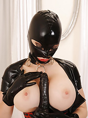 Huge Boobs in Latex
