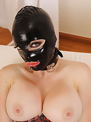 Huge Tits in Latex