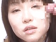 Reika Midoh sexy bukkake video with two male friends
