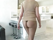 Pantyhose milf ass