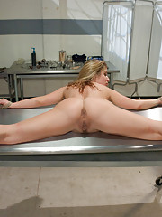 Bondage sex with role play and anal!