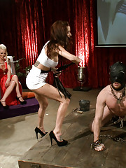Live and Public femdom party!