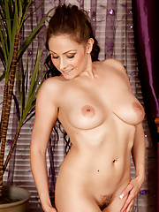 Milf next door in her amazing debut shooting for Anilos