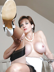 Girdle and nylons