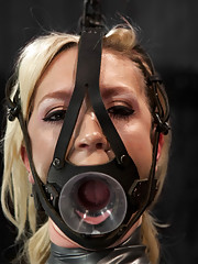 Maia learns how unforgiving Device Bondage is. Every sensation is heightened as its laced with fear, only increasing the intensity of her orgasms.