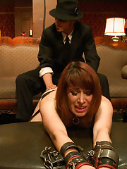 House slave Odile is punished for being a bad, bad girl.