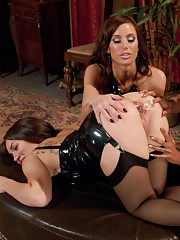 Three Latex Girls have Anal Kinky Sex!