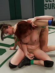Cheyenne  Jewel vs. Odile someone gonna tap out! Two all natural babes battle to make each other Sexually Surrender on our Mats