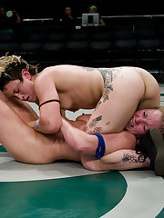 Champion Crowned at Ultimate Surrenders all nude wrestling.