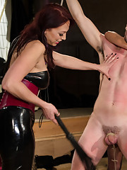 Two FEMDOM MILFs devour, humiliate, fist and fuck 21 year old slaveboy!!!