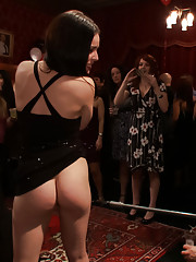 HAPPY BIRTHDAY, PRINCESS!!! Princess Donna tests the perverted loyalties of her subjects with her CATTLE PROD. Beg for it, BITCHES!!