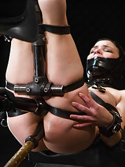 Juliette March is an insatiable bondage junkie that comes to DeviceBondage for a fix. Desperate to get off, she is willing to endure almost anything.