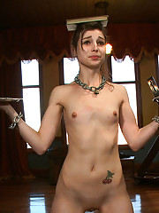 Cute as hell slave girl teased and trained on the Upper Floor