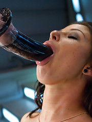 Cute little hottie squirts in her own face from machine fucking, does amazing anal, giant, powerful orgasms & tit suckers, goat milkers, and butt play