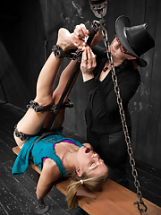 Fragments VII - Melody and Chastity give it their all in challenging and unique bondage predicaments, but in the end become fragments.