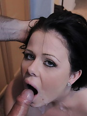 Dirty old man fucking a stupid young slut