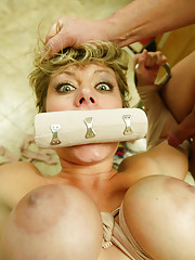MILF Velicity gets fucked and tied up by her pussy doctor!