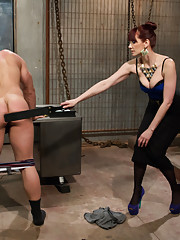 Slave wannabe applies for Maitresse Madeline