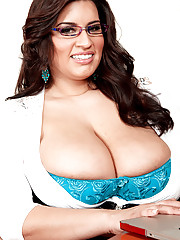 Latina in Glasses