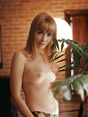 A PRETTY GIRL...  . . . is like a melody -- Melodye Prentiss, that is, our July playmate, who leads a lively double life as playboy staffer and fine-arts student     For honey-blonde Melodye Prentiss, the path to bec…