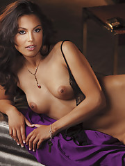 LATIN TEMPTATION  Miss April sets both hearts and stomachs aflutter  Photography by Arny Freytag    Having witnessed many a man turn to mush after sampling her killer chiles rellenos, Raquel Pomplun says with a knowi�
