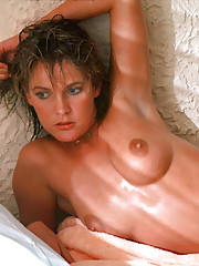 """Phillip Dixon, the Playboy photographer who shot the pictures you see here, describes Kathryn Morrison as ethereal. """"She"""