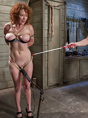 When Audrey Hollander comes to Kink.com to train as a slave, she suddenly realizes she cannot get away with her usual party girl antics.