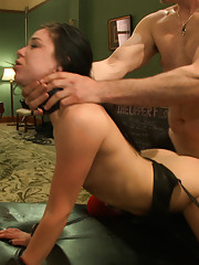 When a pair of horny sex slaves are distracted by hard, sadistic cock they are made to choose between pleasure and pain to earn their rewards.
