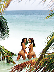 When 1990 Playmate of the Year Renee Tenison reminded us she had a twin sister, we experienced minor heart palpitations. When she said Rosie wanted to shoot a pictorial with her, we called for the EMTs.�