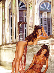 When 1990 Playmate of the Year Renee Tenison reminded us she had a twin sister, we experienced minor heart palpitations. When she said Rosie wanted to shoot a pictorial with her, we called for the EMTs.…