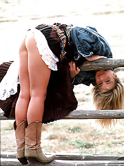Cowgirl? Not really. Before we took her north to Oregon for the Pendleton Round-Up, the closest Kym Paige had been to a Colt or a Mustang was on the Hollywood Freeway. So what