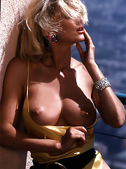 One look at her - the spectacular blonde with the quick step, hot-pink lipstick and icendiary eyes, turning heads on Sunset Boulevard - and you know this is the savviest of big-city women. Wrong. Savvy, yes, but not�