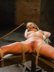 Hot newbie Cameron is so horny she can