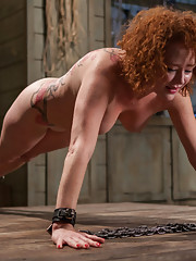 Submissive Porn Star Audrey Hollander is trained to suck cock and take it in the ass like a good little obedient slave girl.