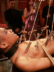 When porn starlet Natile Moore comes to the Upper Floor, she inspires a full fledged anal orgy.