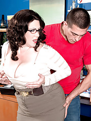 Big Tits in Office